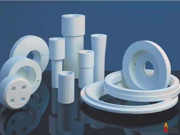 Industrial refractory ceramics trade market